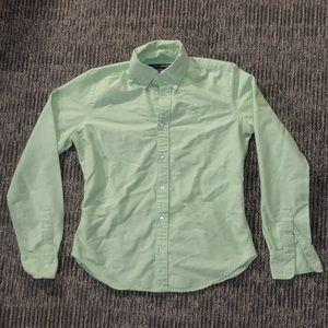 3 for $15 Green Ralph Lauren button down